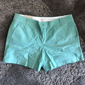 J. Crew Powdered Oxford City Fit Shorts NWT